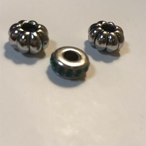 2 stoppers and birthstone charm